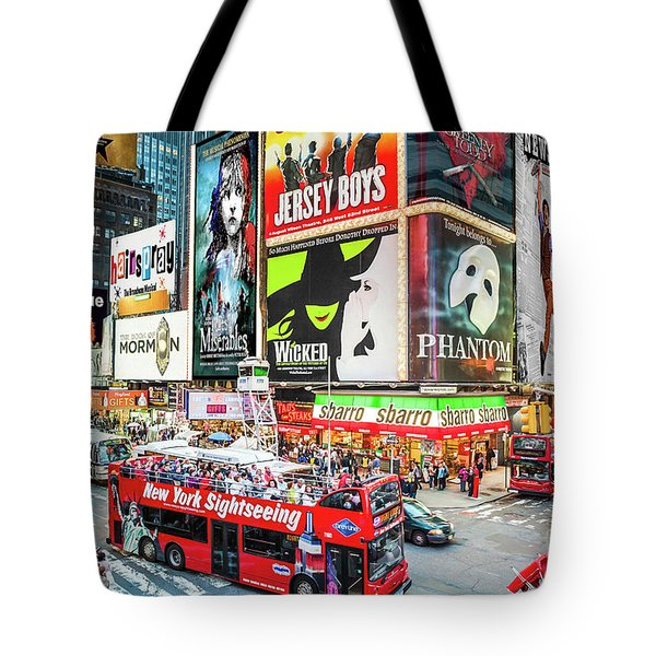 Times Square II Special Edition Tote Bag