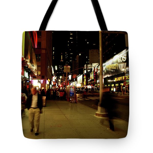 Time Square, One Tote Bag