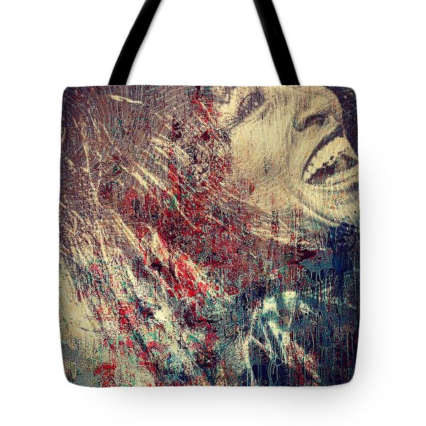 Tina Turner Spirit  Tote Bag