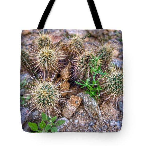 Tiny Cactus Tote Bag