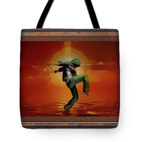 Tip Toe Dancer Tote Bag