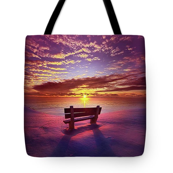 Tote Bag featuring the photograph To Belong To Oneself by Phil Koch