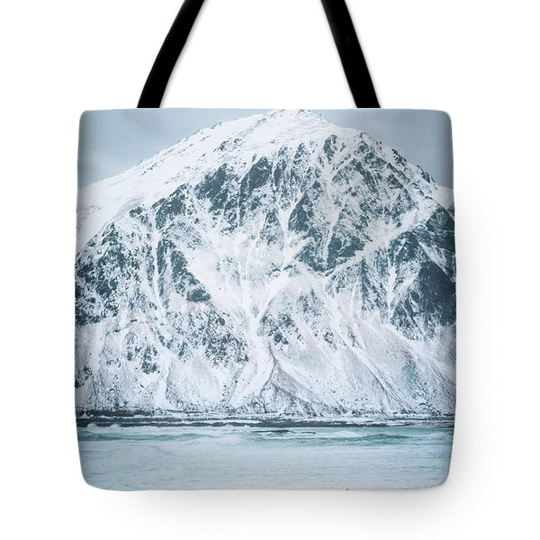 To Ride The Arctic Waves Tote Bag