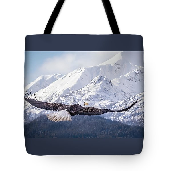 To The Hills... Tote Bag
