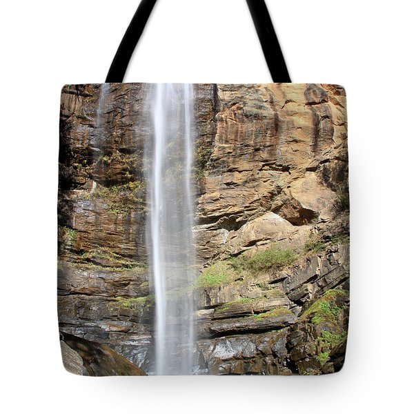 Toccoa Falls, Georgia, U.s.a Tote Bag