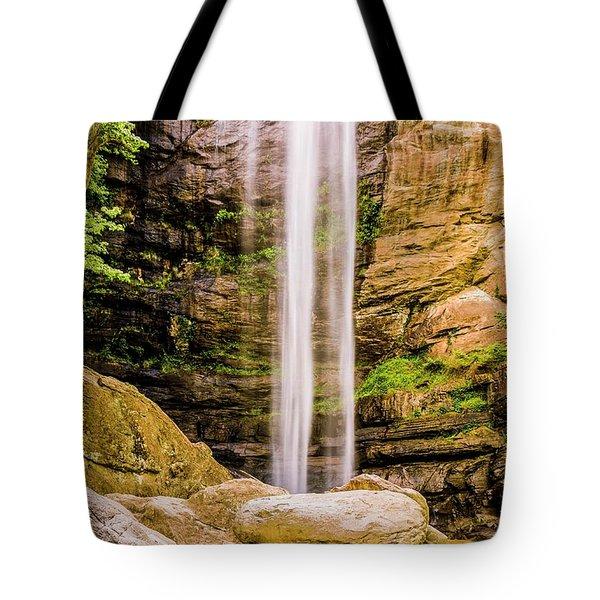 Toccoa Falls Tote Bag