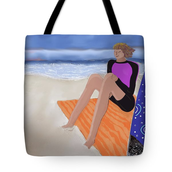 Toes In The Sand Tote Bag