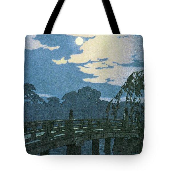Tokyo Junidai, Hirakawa Bridge - Digital Remastered Edition Tote Bag