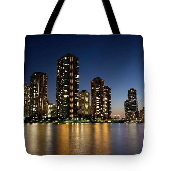 Tokyo Night View Tote Bag