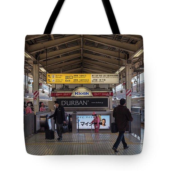 Tokyo To Kyoto Bullet Train, Japan 2 Tote Bag