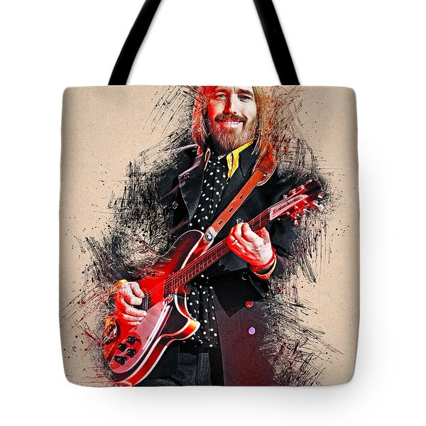 Tom Petty - 35 Tote Bag