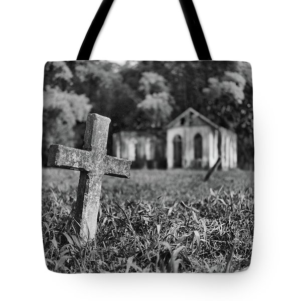 Tombstone, St. Chad's, Trinidad Tote Bag