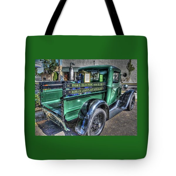 Tom's Electric Truck Tote Bag