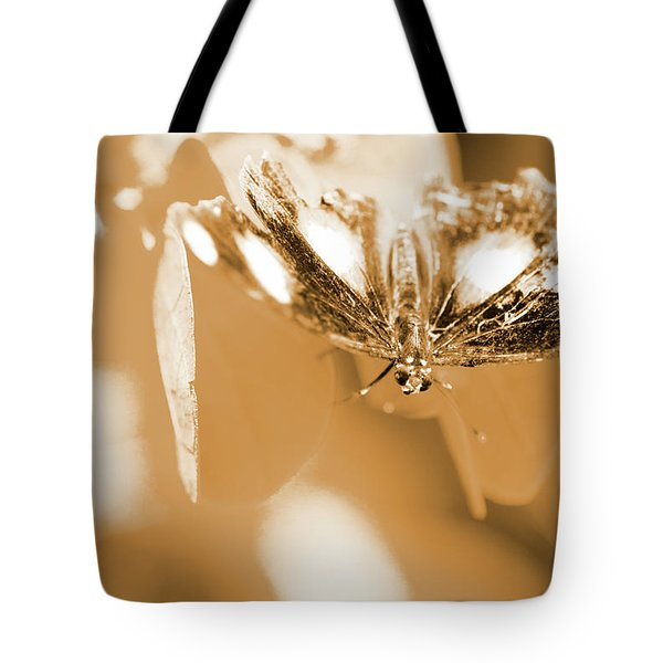 Toned Tropics Tote Bag