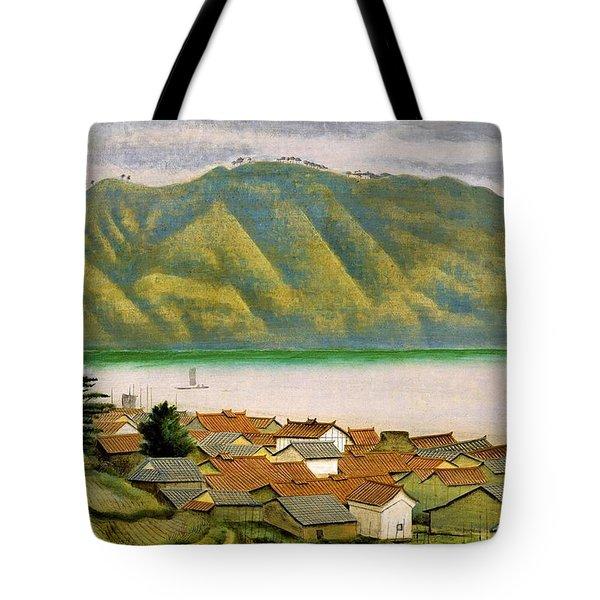 Top Quality Art - The Port Of Ezumi In Izumo Tote Bag
