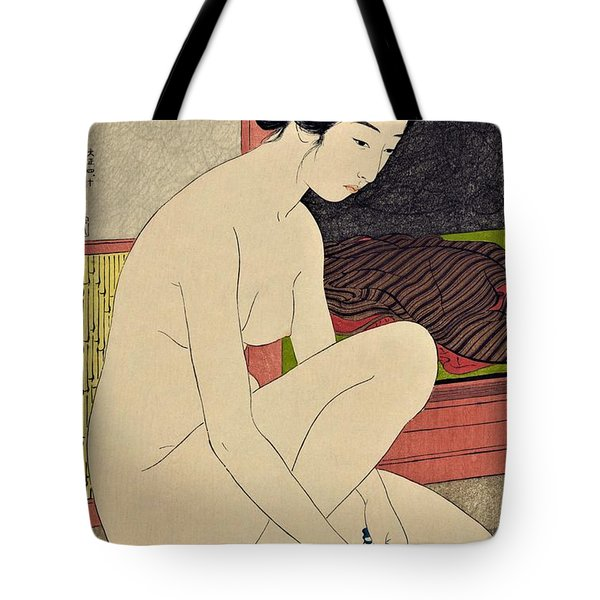 Top Quality Art - Woman After Bath #1 Tote Bag