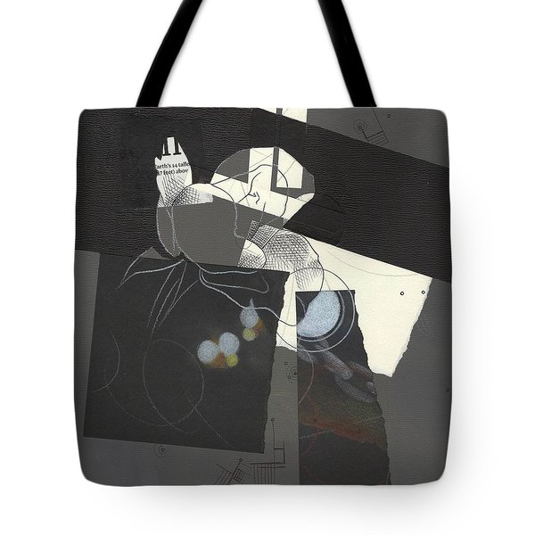 Torn Beauty No. 2 Tote Bag