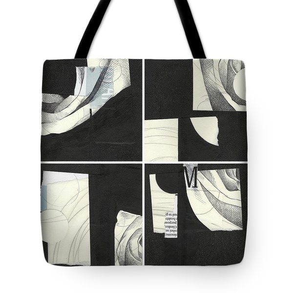 Torn Beauty No. 4 Tote Bag