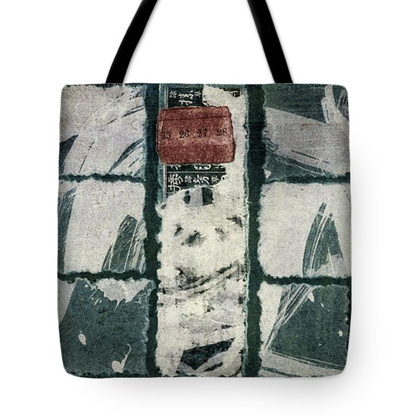Torn Squares Collage Tote Bag