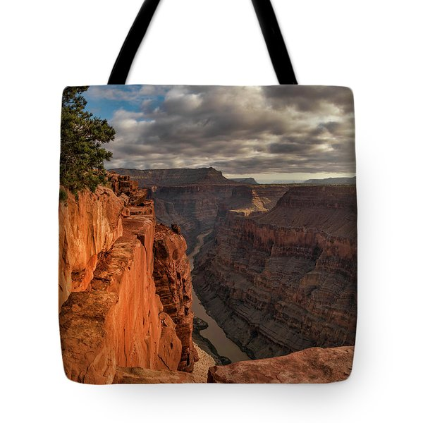 Tote Bag featuring the photograph Toroweap Sunrise by Leland D Howard