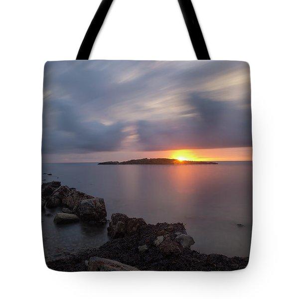 Total Calm In An Ibiza Sunrise Tote Bag