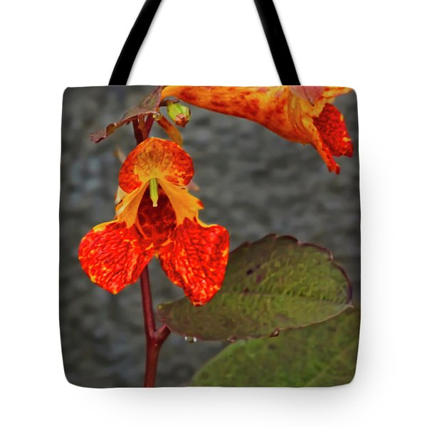 Touch Me Nots Tote Bag