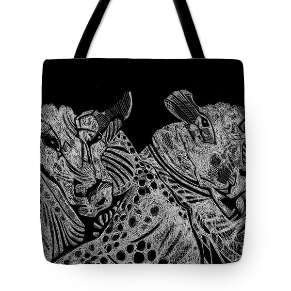 Tough Rams Tote Bag