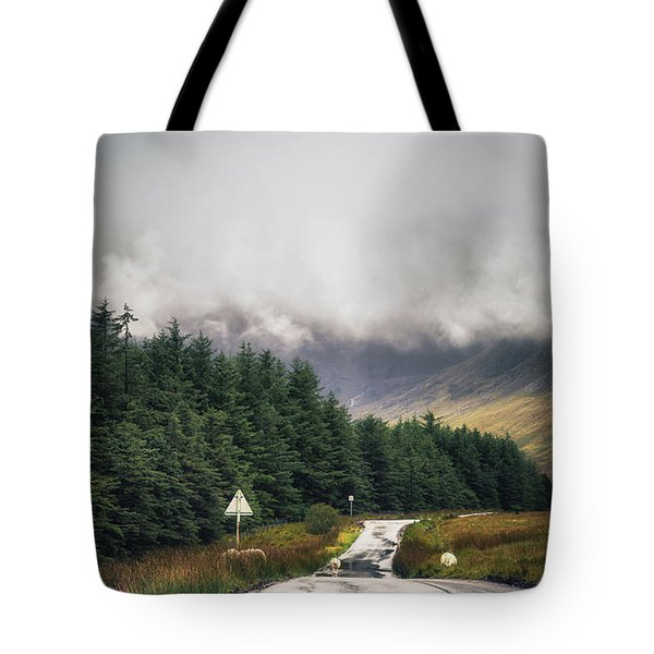 Towards The Fairy Pools Tote Bag