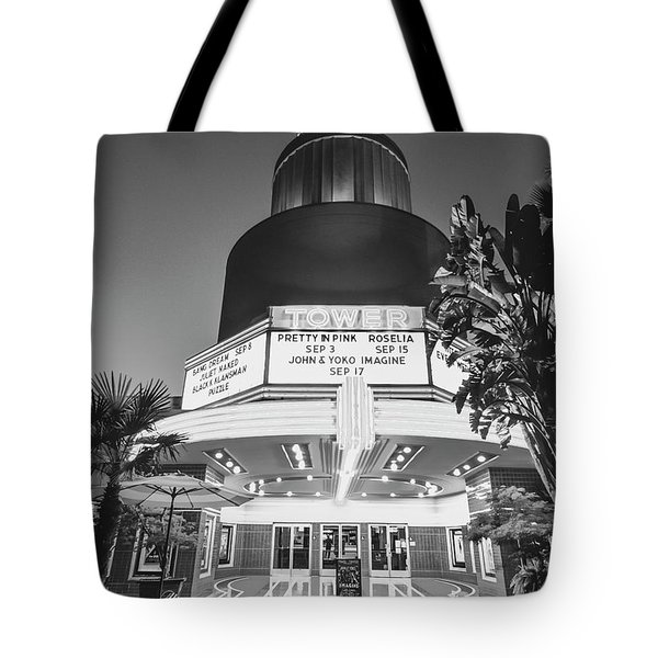 Tote Bag featuring the photograph Tower In Silence- by JD Mims