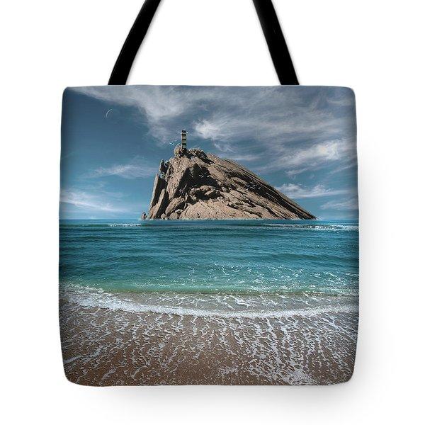 Tower Rock Tote Bag
