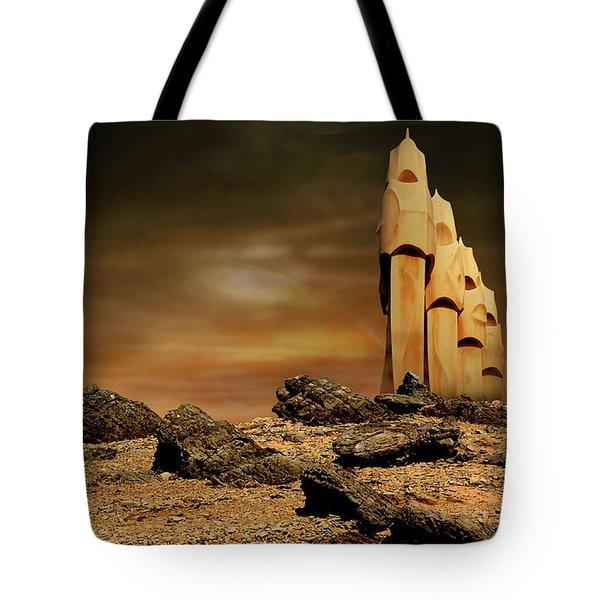 Towers Of Icarus II Tote Bag