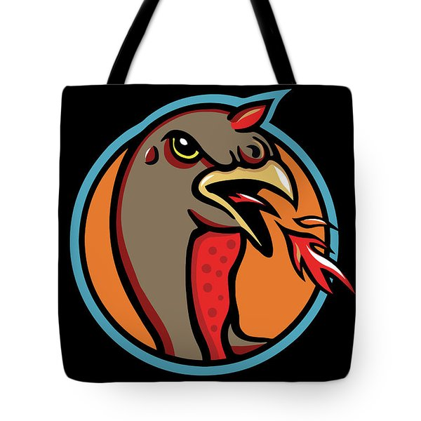 Town Mascot Tote Bag