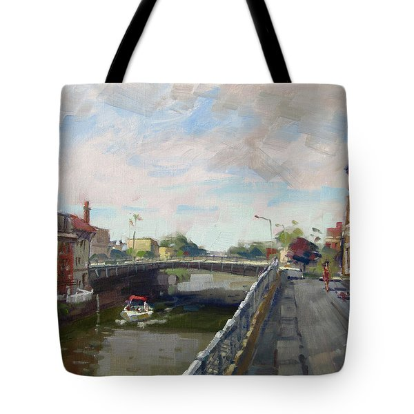 Town Of Lockport Tote Bag