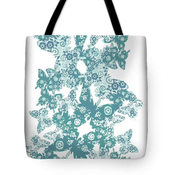 Traces Of Patterned Beauty Tote Bag