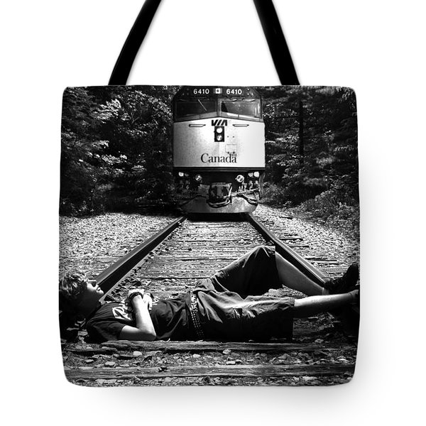 Tote Bag featuring the photograph Tracks by Phil Koch