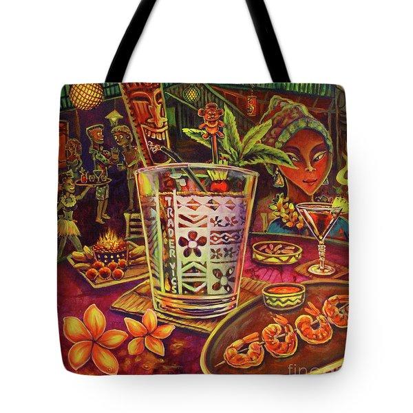 Trader Vic Mai Tai Tote Bag