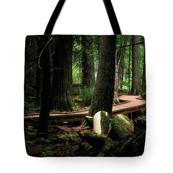 Trail Of The Ceders Tote Bag