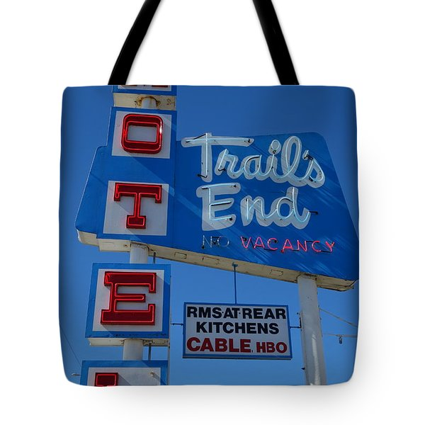 Trail's End Motel Tote Bag