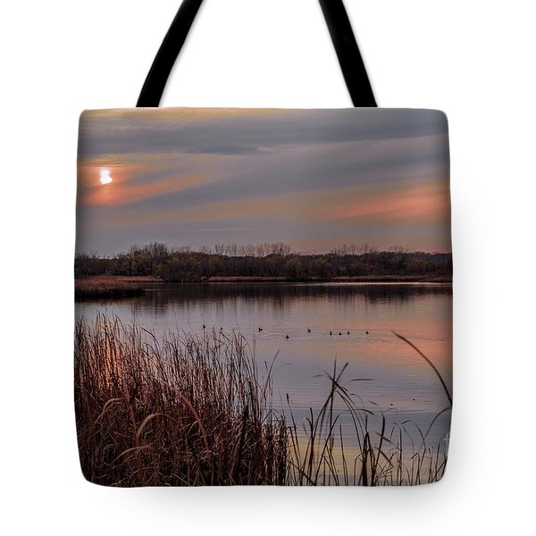 Tranquil Sunset Tote Bag