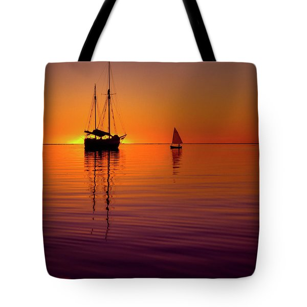 Tranquility Bay Tote Bag