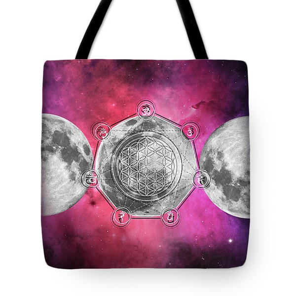 Tote Bag featuring the digital art Transformation by Bee-Bee Deigner