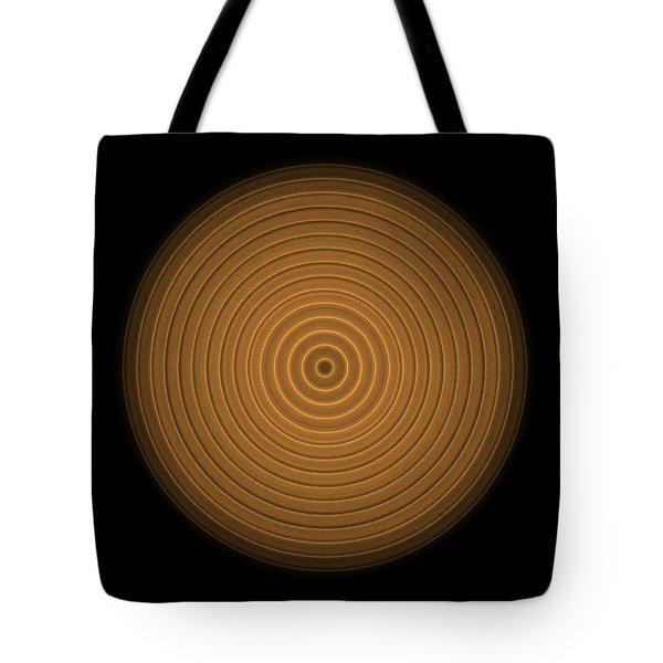 Transparent Intricate Complex Target Spiral Fractal Tote Bag