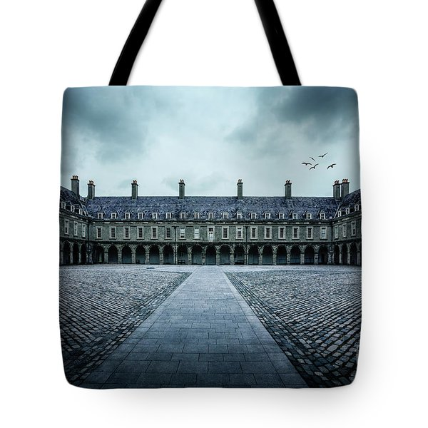 Trapped In Silence Tote Bag