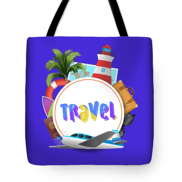 Travel World Tote Bag