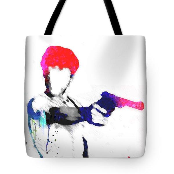Travis Watercolor Tote Bag