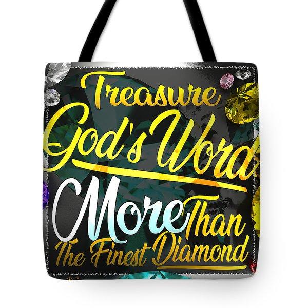 Treasure God's Word Tote Bag