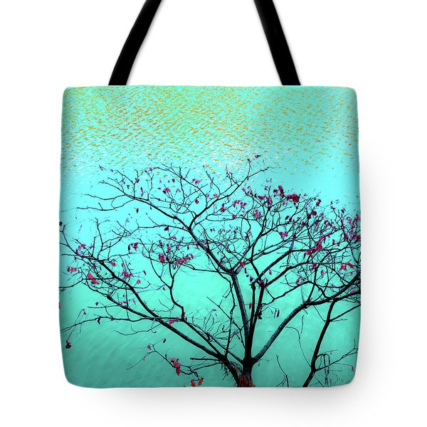 Tree And Water 1 Tote Bag