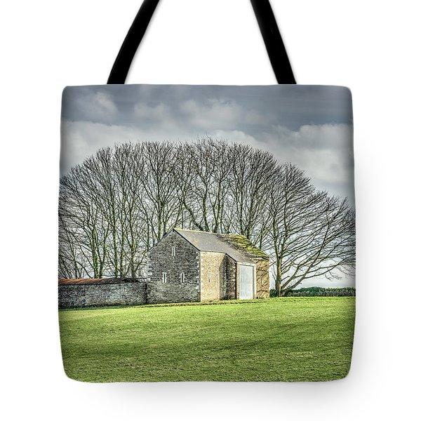 Tree Fan Tote Bag