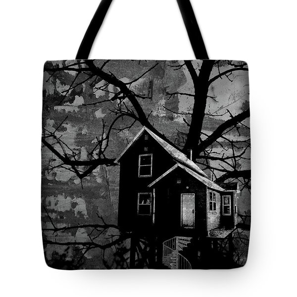 Treehouse II Tote Bag