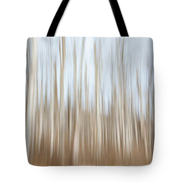 Trees On The Move Tote Bag